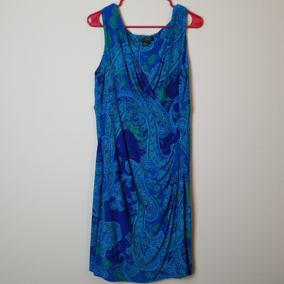 Lauren Ralph Lauren plus size dress